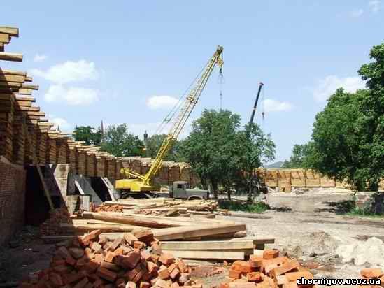 Будівництво оборонної споруди
